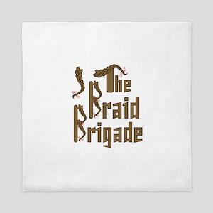 Braid Brigade Queen Duvet