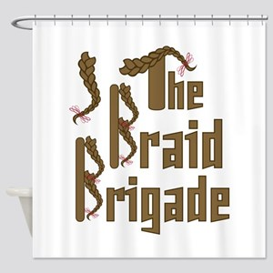 Braid Brigade Shower Curtain