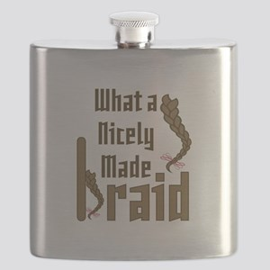 Nicely Made Braid Flask