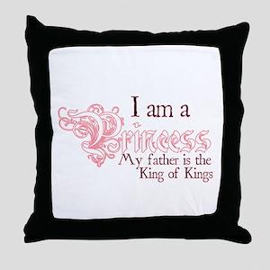 I am a Princess Throw Pillow
