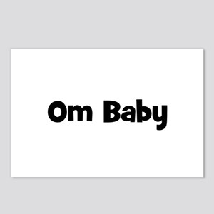 Om Baby Postcards (Package of 8)