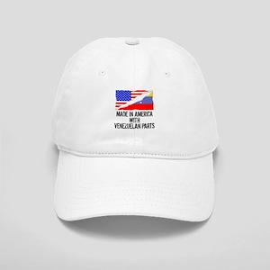 Made In America With Venezuelan Parts Baseball Cap