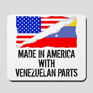 Made In America With Venezuelan Parts Mousepad