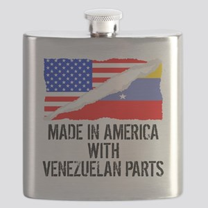 Made In America With Venezuelan Parts Flask