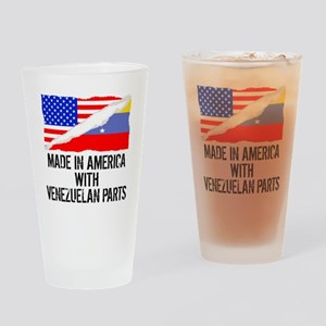 Made In America With Venezuelan Parts Drinking Gla