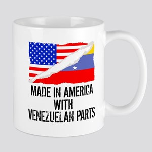 Made In America With Venezuelan Parts Mugs
