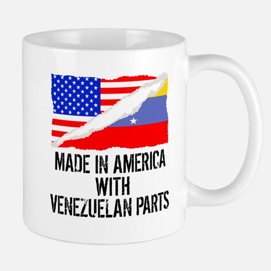 Made In America With Venezuelan Parts Mugs