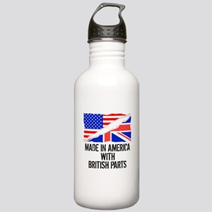 Made In America With British Parts Water Bottle