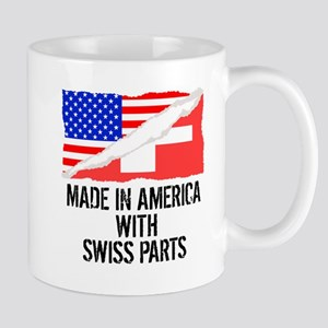 Made In America With Swiss Parts Mugs