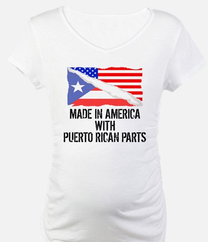Made In America With Puerto Rican Parts Shirt