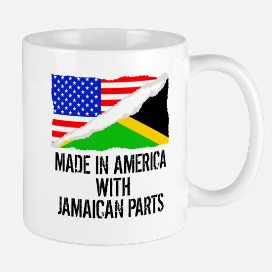 Made In America With Jamaican Parts Mugs