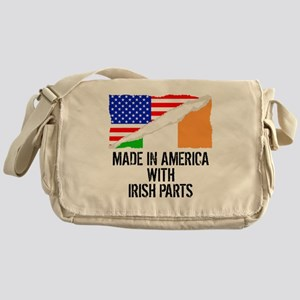 Made In America With Irish Parts Messenger Bag