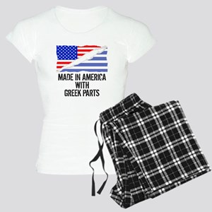 Made In America With Greek Parts Pajamas