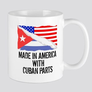 Made In America With Cuban Parts Mugs
