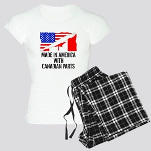 Made In America With Canadian Parts Pajamas
