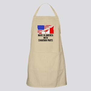 Made In America With Canadian Parts Apron