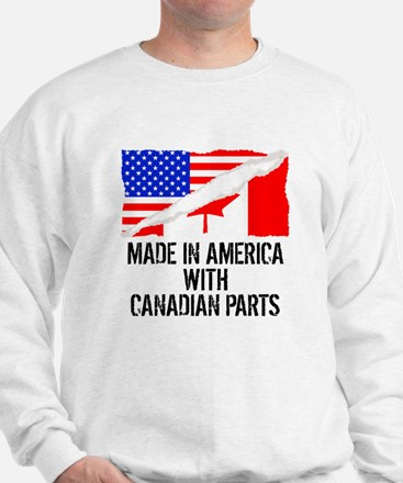 Made In America With Canadian Parts Sweater