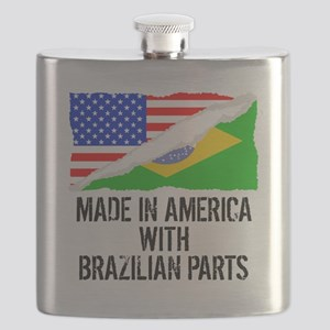 Made In America With Brazilian Parts Flask