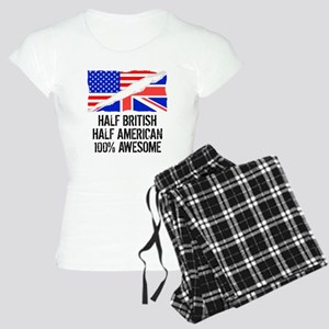 Half British Half American Awesome Pajamas