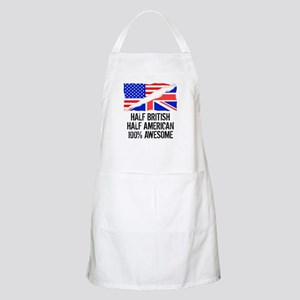 Half British Half American Awesome Apron