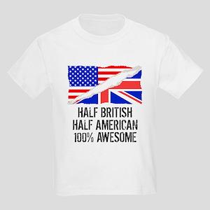 Half British Half American Awesome T-Shirt