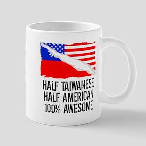 Half Taiwanese Half American Awesome Mugs