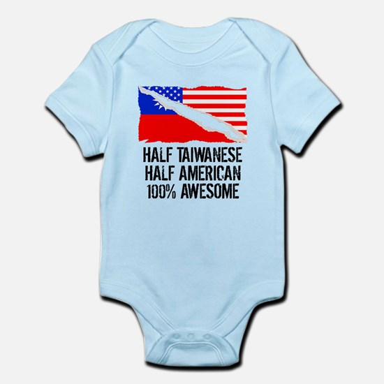 Half Taiwanese Half American Awesome Body Suit