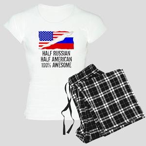 Half Russian Half American Awesome Pajamas