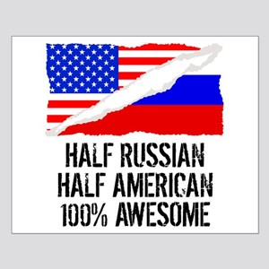 Half Russian Half American Awesome Posters