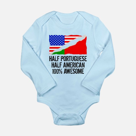 Half Portuguese Half American Awesome Body Suit