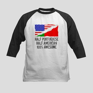 Half Portuguese Half American Awesome Baseball Jer