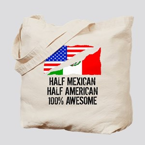 Half Mexican Half American Awesome Tote Bag
