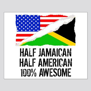 Half Jamaican Half American Awesome Posters