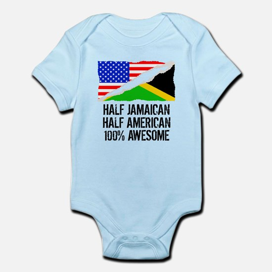 Half Jamaican Half American Awesome Body Suit