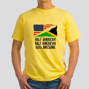 Half Jamaican Half American Awesome T-Shirt