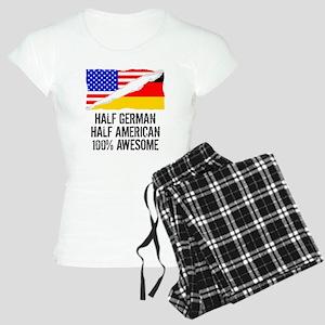 Half German Half American Awesome Pajamas