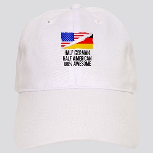Half German Half American Awesome Baseball Cap