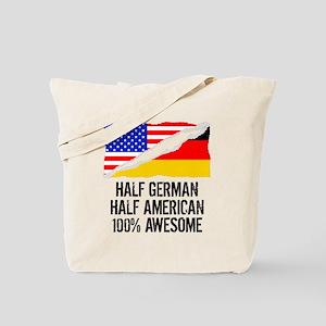 Half German Half American Awesome Tote Bag