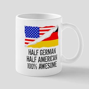 Half German Half American Awesome Mugs