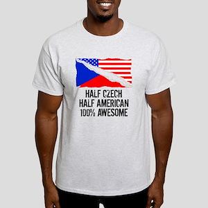 Half Czech Half American Awesome T-Shirt