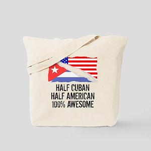Half Cuban Half American Awesome Tote Bag