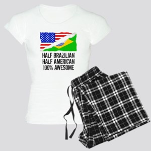 Half Brazilian Half American Awesome Pajamas
