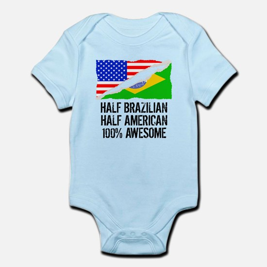 Half Brazilian Half American Awesome Body Suit
