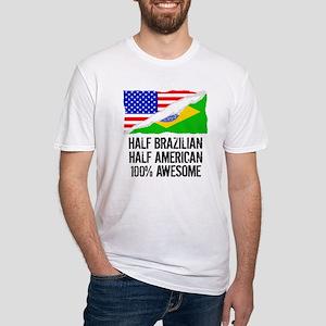 Half Brazilian Half American Awesome T-Shirt