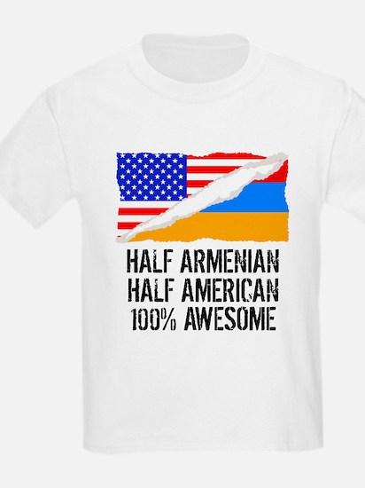 Half Armenian Half American Awesome T-Shirt
