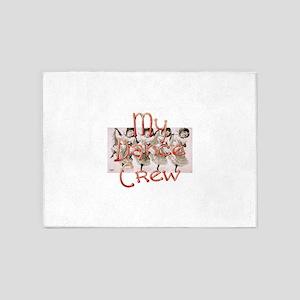 My Dance Crew 5'x7'Area Rug