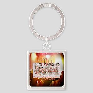 My Dance Crew Square Keychain