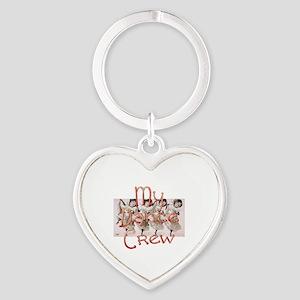 My Dance Crew Heart Keychain