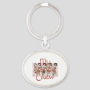 My Dance Crew Oval Keychain