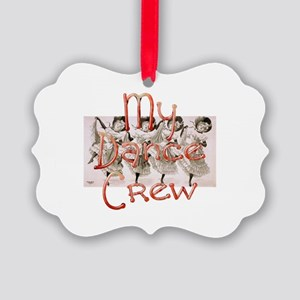 My Dance Crew Picture Ornament